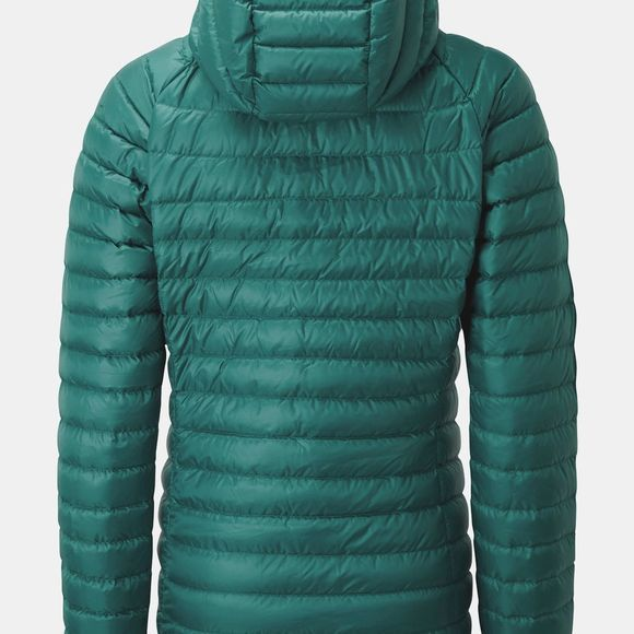 Rab Womens Microlight Alpine Extra Long Jacket Atlantis / Cascade