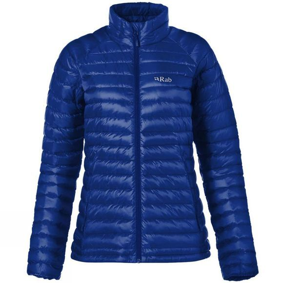 Rab Womens Microlight Jacket 2018 Blueprint / Celestial