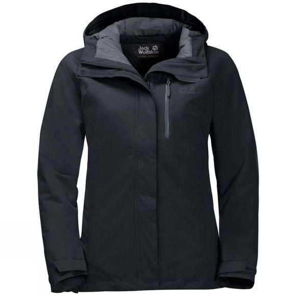 Jack Wolfskin Womens Northern Lake Jacket Black