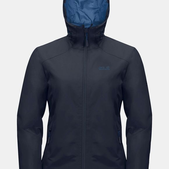 Jack Wolfskin Womens Chilly Morning Jacket Midnight Blue
