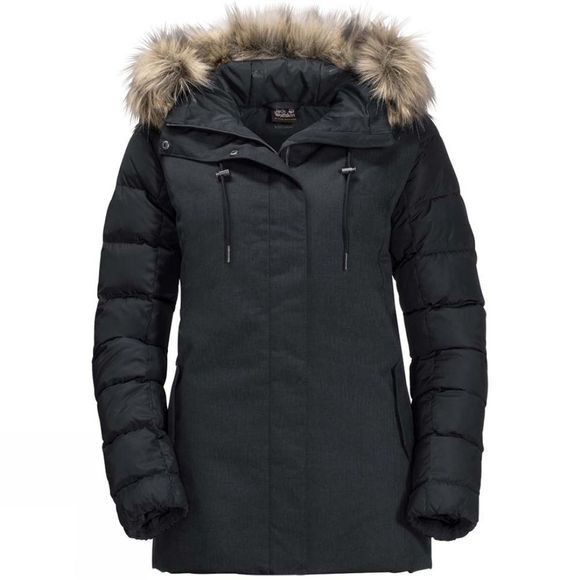 Jack Wolfskin Womens Temple Hill Jacket Black