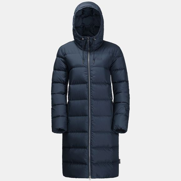 Jack Wolfskin Womens Crystal Palace Jacket Midnight Blue
