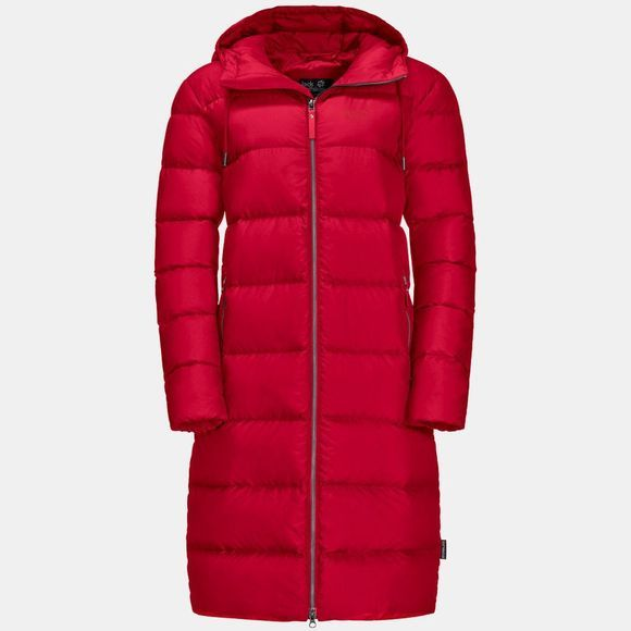 Jack Wolfskin Womens Crystal Palace Coat Ruby Red