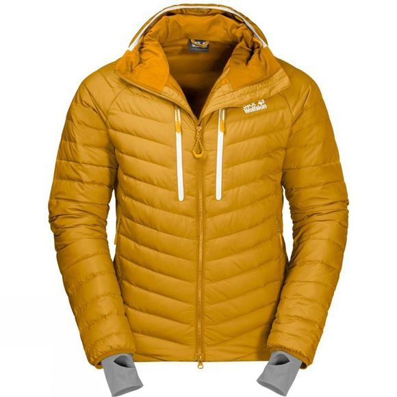 Jack Wolfskin Mens Mount Floyen Jacket Golden Yellow