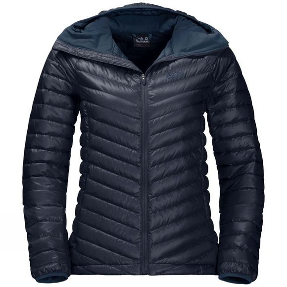 Jack Wolfskin Womens Atmosphere Jacket Midnight Blue