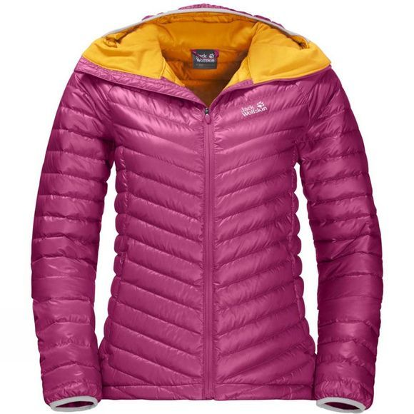 Jack Wolfskin Womens Atmosphere Jacket Fuchsia