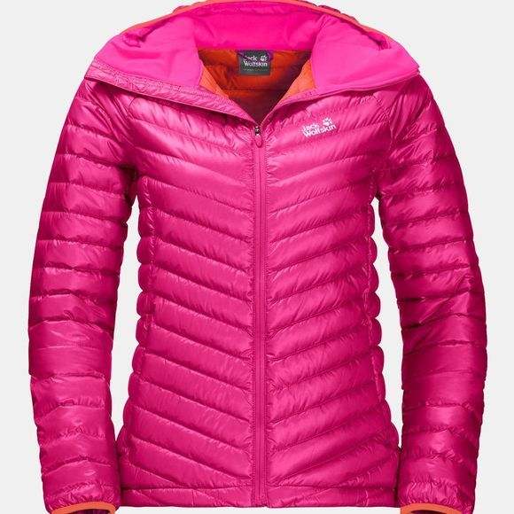 Jack Wolfskin Womens Atmosphere Jacket Pink Fuchsia