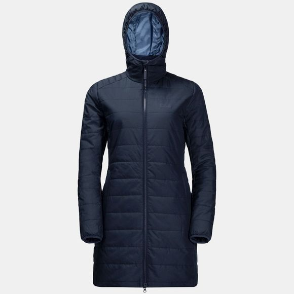 Jack Wolfskin Womens Maryland Coat Midnight Blue