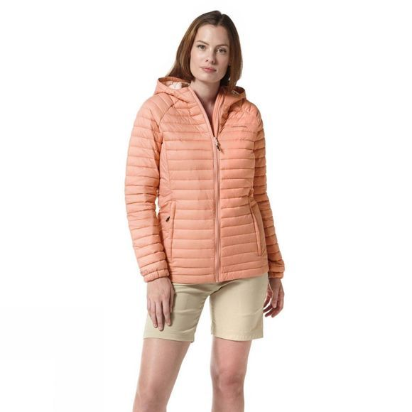 Craghoppers Womens VentaLite Hooded Jacket Rosette