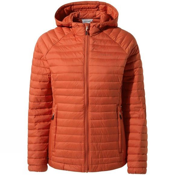 Craghoppers Womens VentaLite Hooded Jacket Warm Ginger