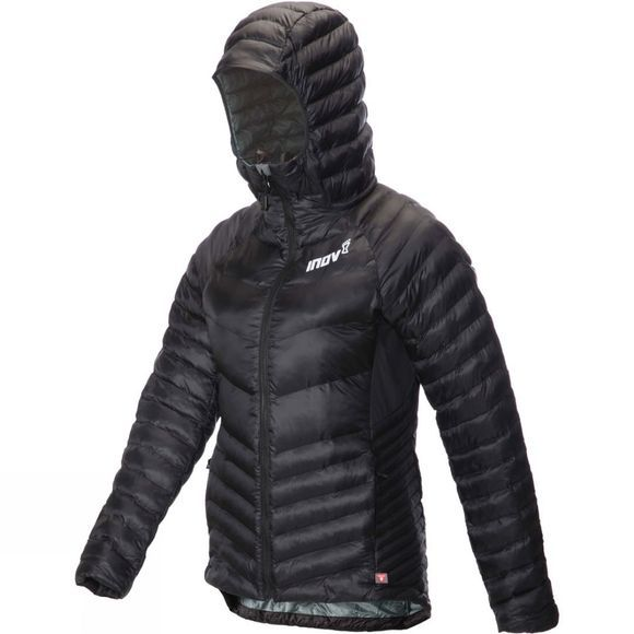 Inov-8 Womens Thermoshell Pro FZ Jacket Black /  Blue Grey