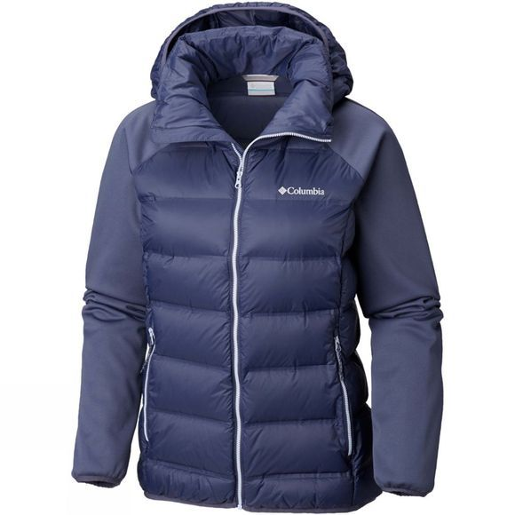 Columbia Womens Explorer Falls Hybrid Jacket Nocturnal