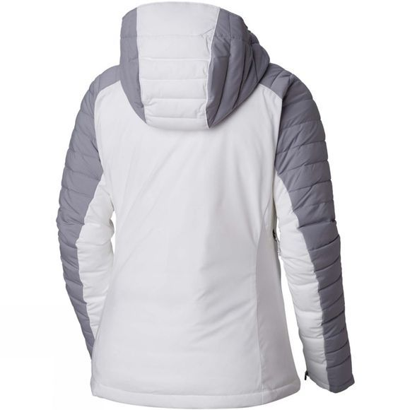Columbia Womens Whistler Peak Jacket White/ Astral