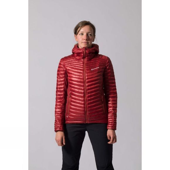 Montane Women's Phoenix Flight Jacket Tibetan Red/Uluru Red