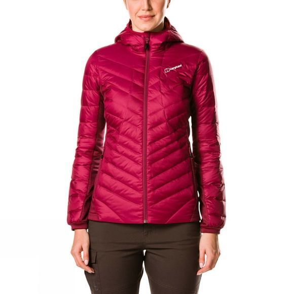 Berghaus Womens Tephra Stretch Reflect Jacket Beet Red