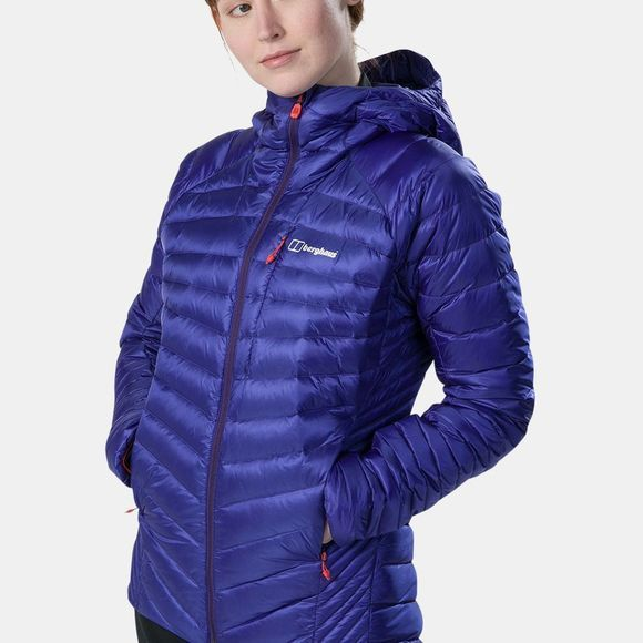 Berghaus Womens Extrem 2.0 Micro Down Jacket Spectrum Blue