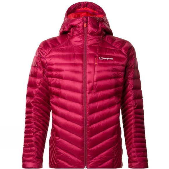 Berghaus Womens Extrem 2.0 Micro Down Jacket Beet Red