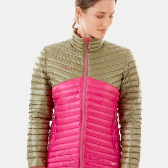 Mammut Womens Broad Peak Light IN Jacket Pink/Olive