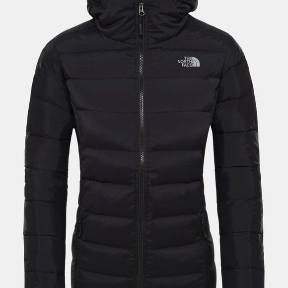 The North Face Women's Stretch Down Hoodie Tnf Black