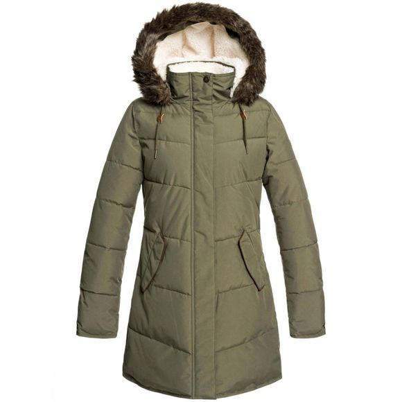 Roxy Womens Ellie Jacket Ivy Green