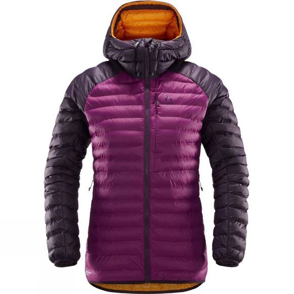 Haglofs Womens Essens Mimic Hood Lilac / Acai Berry