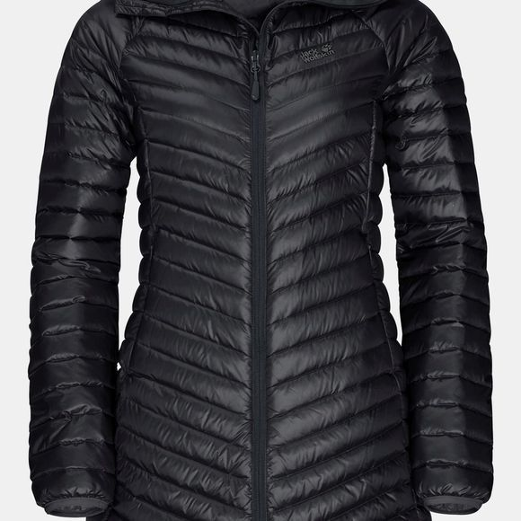 Jack Wolfskin Womens Atmosphere Coat Black