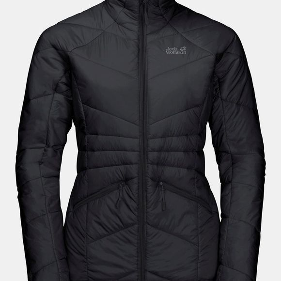 Jack Wolfskin Womens Argon Jacket Black