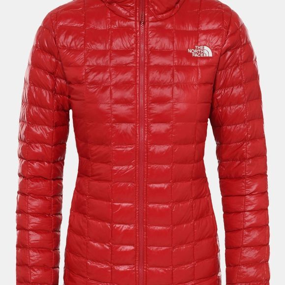 The North Face Womens Thermoball Eco Packable Jacket Cardinal Red