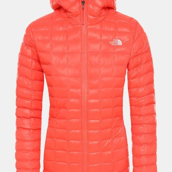 The North Face Womens Thermoball  Eco Packable Jacket Radiant Orange