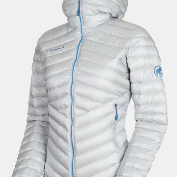 Mammut Womens Broad Peak Insulated Hooded Jacket Highway-Sapphire