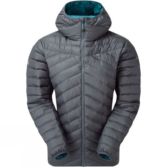 Mountain Equipment Womens Earthrise Hooded Jacket Moorland Slate