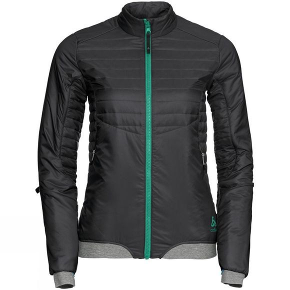 Odlo Womens Cocoon S Zip In Jacket Black