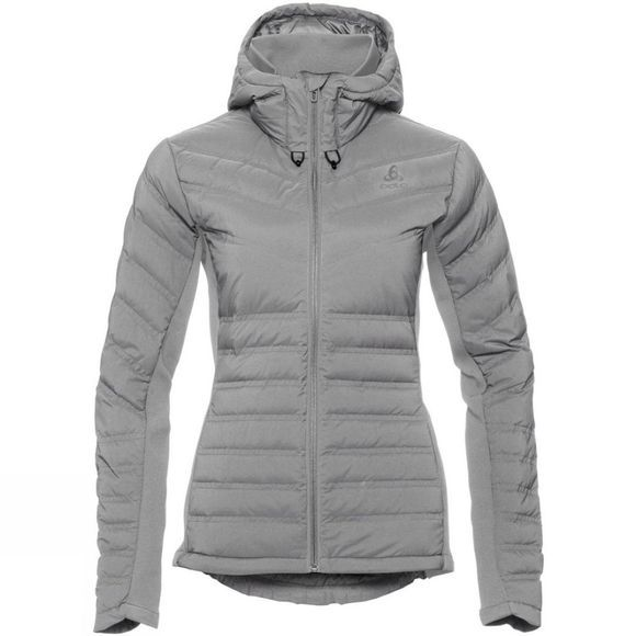 Odlo Womens Sara Cocoon Insulated Jacket Odlo Concrete Grey