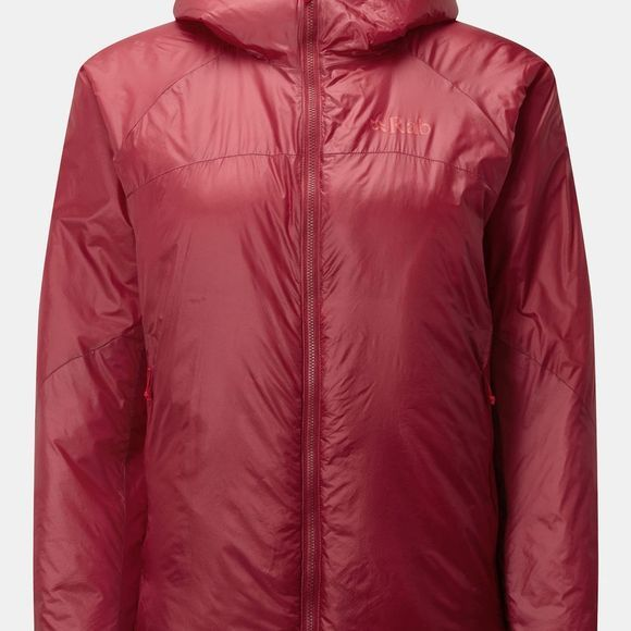Rab Womens Xenon Jacket Crimson