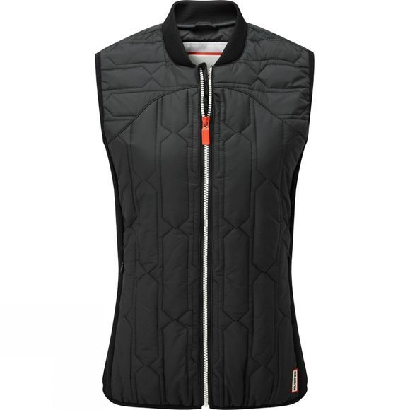 Hunter Womens Original Midlayer Gilet Black