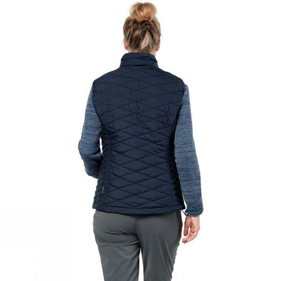 Jack Wolfskin Womens Aquila Glen Vest Midnight Blue