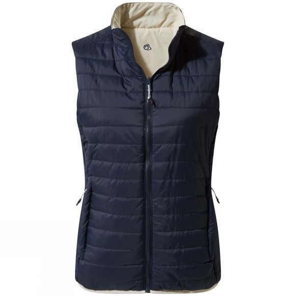 Craghoppers Womens ComLite III Vest Blue Navy/Calico