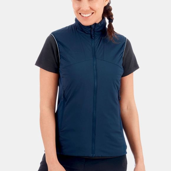 Mammut Womens Rime Light In Flex Vest Peacoat