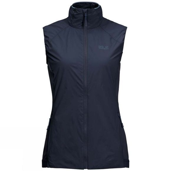 Jack Wolfskin Womens Opouri Peak Vest Midnight Blue