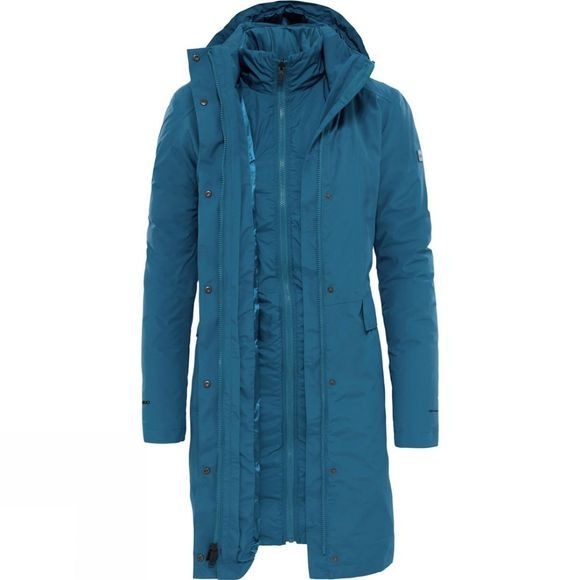 The North Face Womens Suzanne Triclimate Jacket Prussain Blue