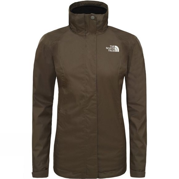 The North Face Womens Evolve II Triclimate Jacket New Taupe Green/Tnf Black