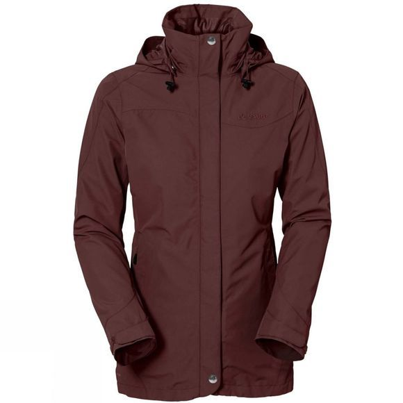 Vaude Womens Idris 3-in-1 Parka Berry