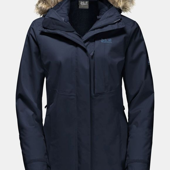 Jack Wolfskin Womens Arctic Ocean Midnight Blue