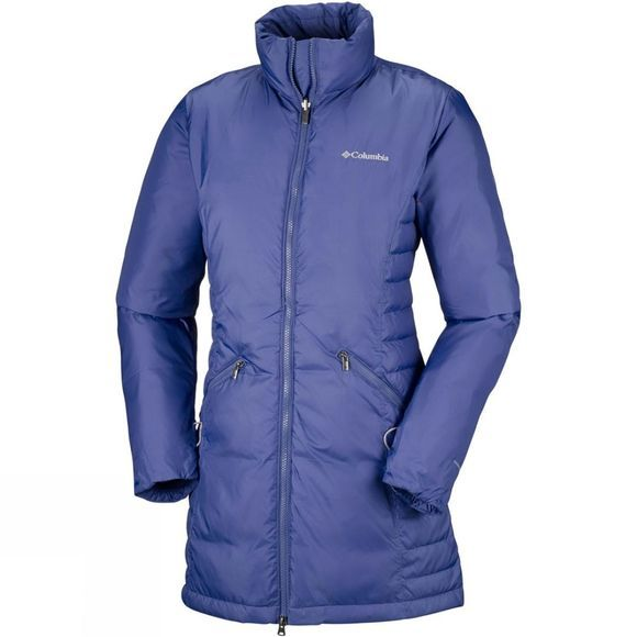 Columbia Womens Salcantay Long Hooded Interchange 3-in-1 Jacket Nocturnal