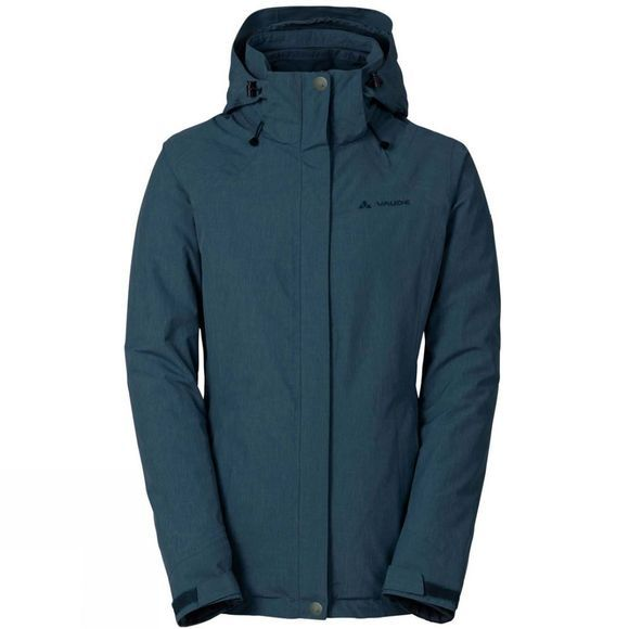 Vaude Womens Caserina 3-in-1 Jacket Dark Petrol