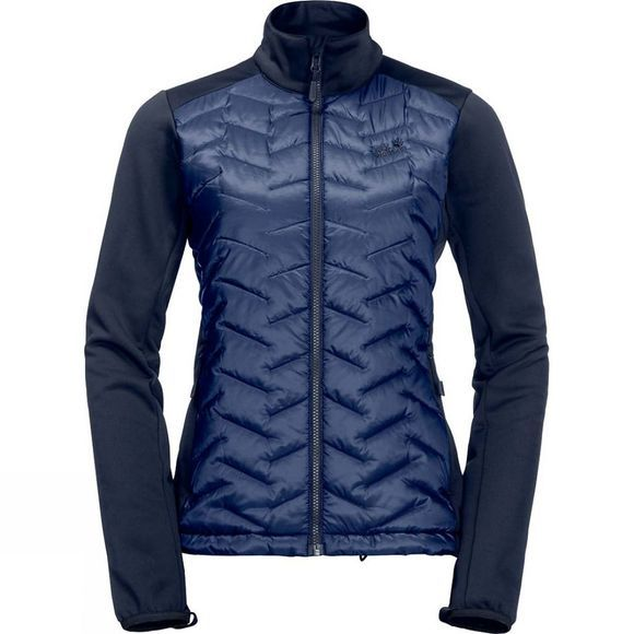 Jack Wolfskin Womens Twillingate 3in1 Jacket Midnight Blue
