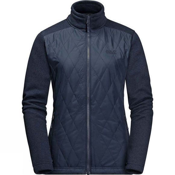 Jack Wolfskin Womens Echo Pass 3in1 Jacket Midnight Blue