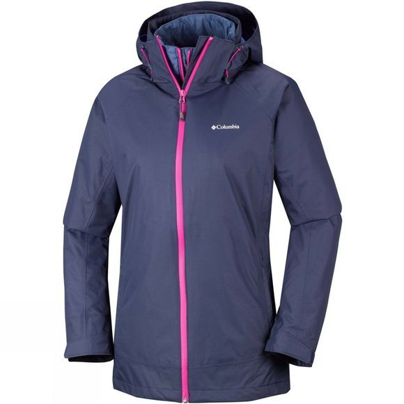 Columbia Womens On The Trail Interchange Jacket Nocturnal