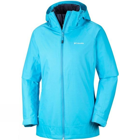 Columbia Womens On The Trail Interchange Jacket Atoll