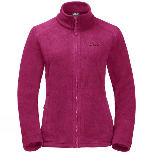 Jack Wolfskin Womens Gotland 3In1 Jacket Grape Leaf